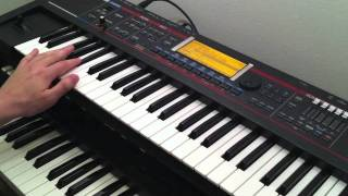 """How to play """"Award Tour"""" by A Tribe Called Quest - piano/keyboard tutorial"""