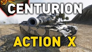World of Tanks || Centurion Action X - 10.0 Preview