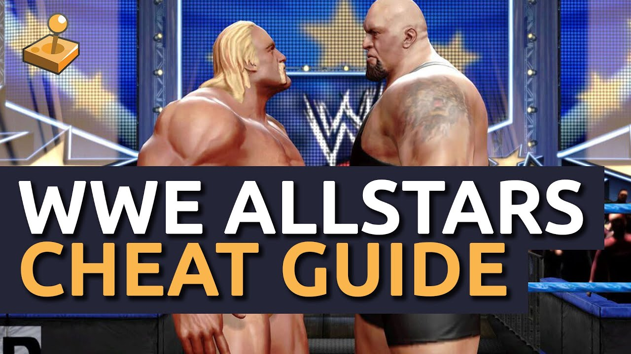 wwe all stars cheat unlock everything youtube