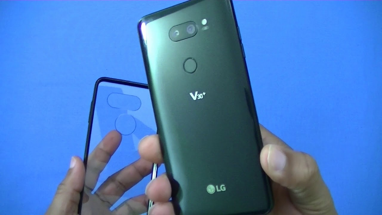 new product 81316 30ecf Slim Clear Black Case for the LG V30 plus!