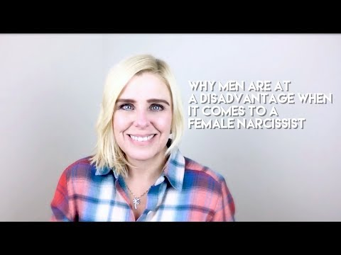 Thumbnail: Why men are at a disadvantage when it comes to a female narcissist.