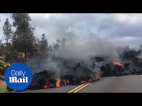 Volcanologist says there is 'No slowdown' for Hawaii eruption - Daily Mail
