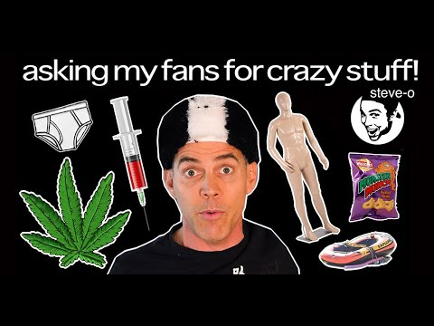 The Wildest Things I've Asked My Fans For On Social Media | Steve-O