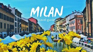 MILAN Travel Guide, 5 best places in milan that you must visit !!