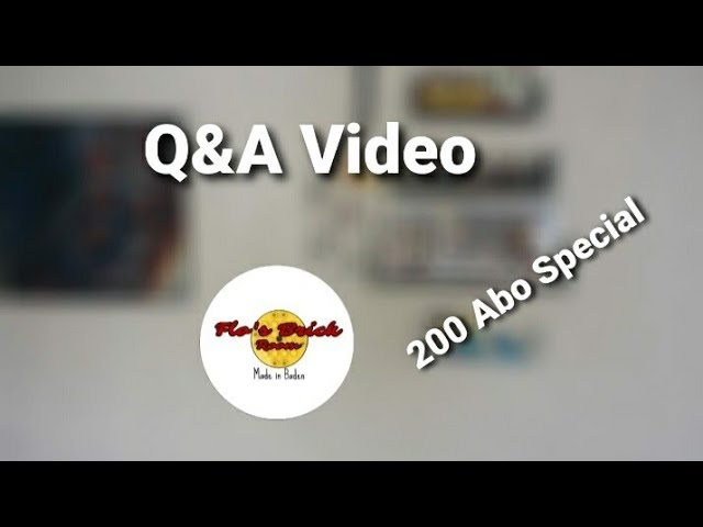 200 Abo-Special// Q&A Video