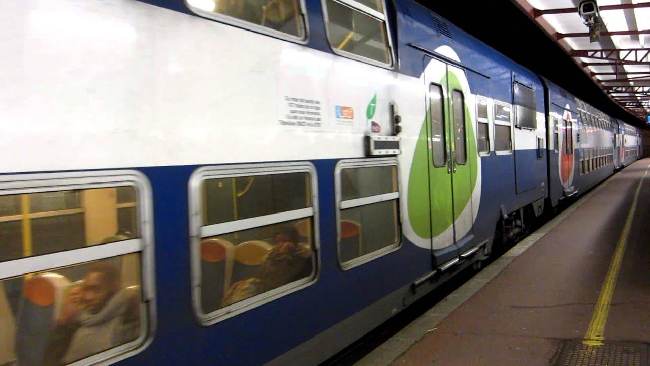 Paris z20500 rer d melun direction st denis funnydog tv - Trajet metro gare de lyon porte de versailles ...