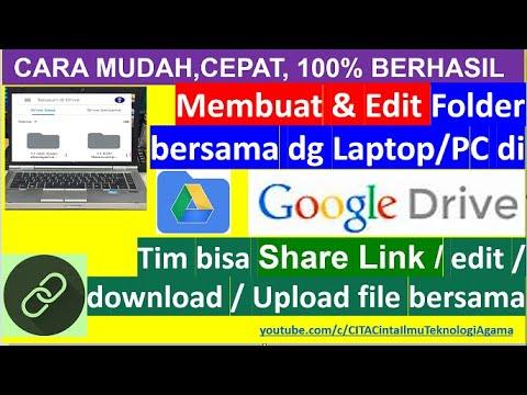 Cara Membuat Link Download File agar Bisa di Download Orang Lain.