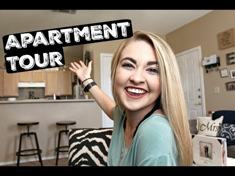 Small One Bedroom Apartment Tour w/ Farmhouse Inspired Decor