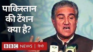 Kashmir मुद्दे पर Pakistan के विदेश मंत्री Shah Mehmood Qureshi ने क्या कहा? (BBC Hindi)