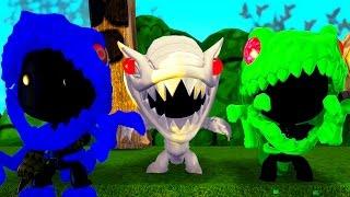 LittleBigPlanet 3 - Mini Jurassic Indominus Rex & Skeleton T Rex Dinosaurs Go To Dinosaur Island 3