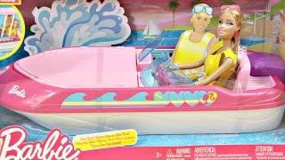 Barbie Glam Boat With Canopy and Doll / Barbie Motorówka z Lalką - Mattel - BCG79 - Recenzja