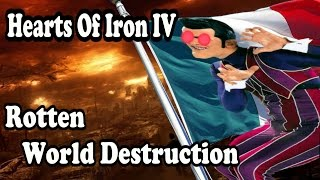 Hearts Of Iron 4 LAZY TOWN DESTRUCTION - LAZY TOWN MOD