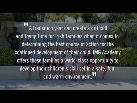 Ireland Student-Athlete Transition Year at IMG Academy