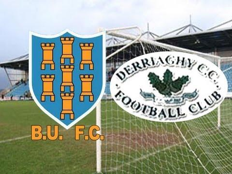 Ballymena United Vs Derriaghy CC - Irish Cup 6th Round - 11-2-12 (3-1)