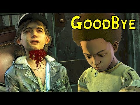 AJ Kills Clementine Sad ENDING - FanMade - The Walking Dead The Final Season