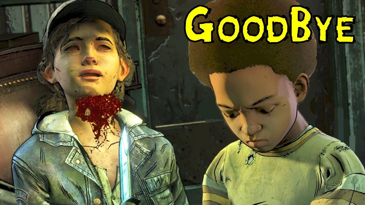 Aj Kills Clementine Sad Ending Fanmade The Walking Dead The Final Season Youtube