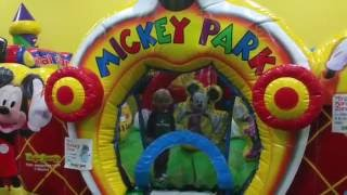 Jason's Monkey Joes Birthday Party Indoor Playground Fun  Slides Monkey Joe's | it's play time 2016
