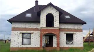 Облицовка фасада дома дагестанским камнем(, 2015-04-15T15:44:33.000Z)
