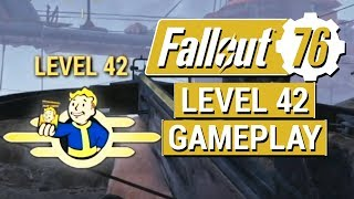 FALLOUT 76: Level 42 Perks and Leveling Up Video!! (NEW Fallout 76 Gameplay)