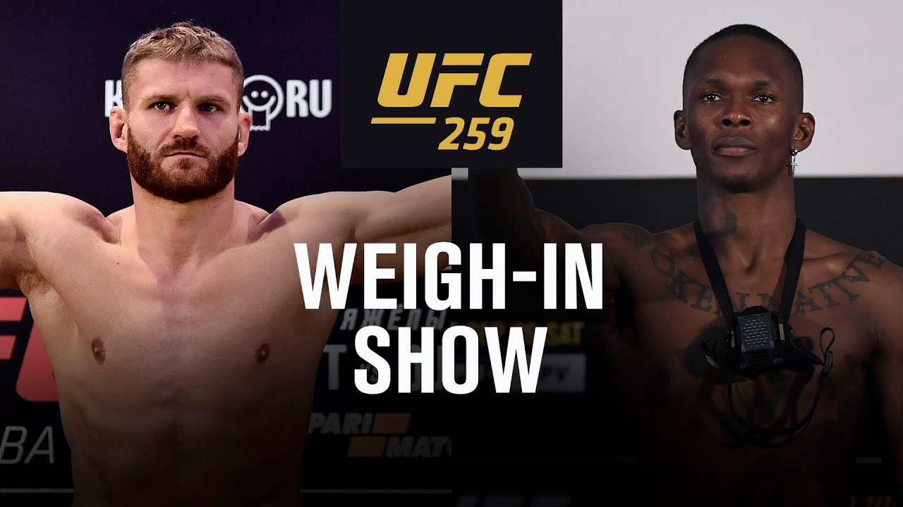 UFC 259: Live Weigh-in Show