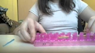 Видео урок по плетению классического браслета из р