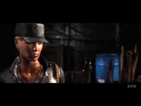 Mortal Kombat X - Sonya Blade vs Kano (Story Battle 20) (HD) [1080p]
