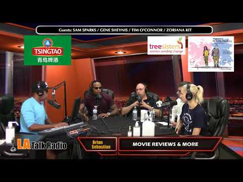 Movie Reviews & More with Brian Sebastian on LA Talk Radio show # 8 August 29, 2017 mp4