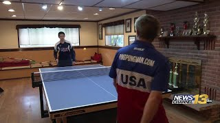 Father-son table tennis duo see increased popularity in sport during pandemic