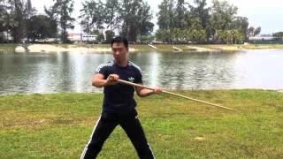 功夫者-武术课程班三段棍第一段