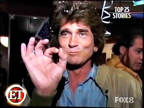 Michael Landon announces he has cancer on ET