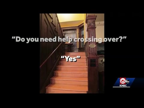 Faint voice captured during paranormal investigation at Dillingham house