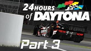 iRacing // iRacing 24 Hours of Daytona 2017 Part 3