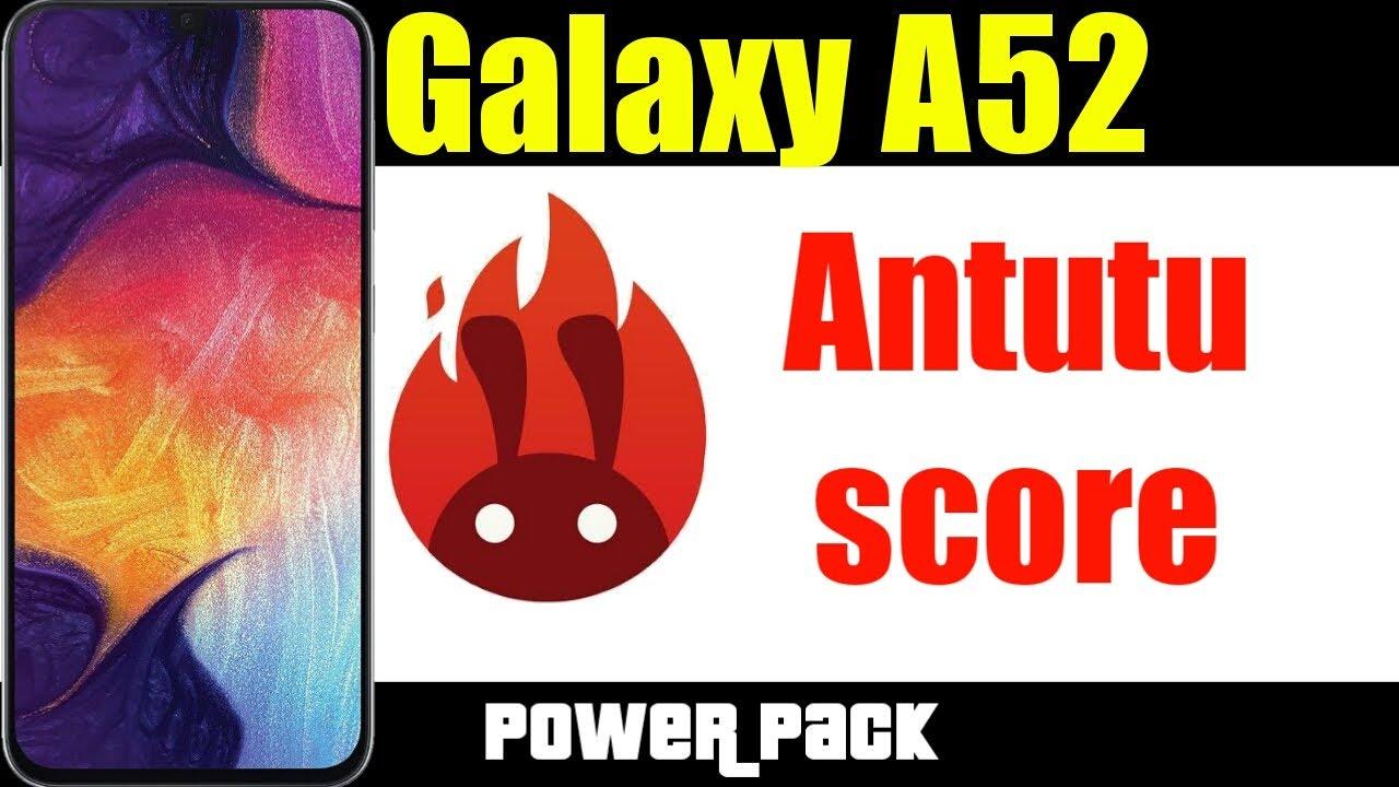 Samsung galaxy a52 antutu benchmark