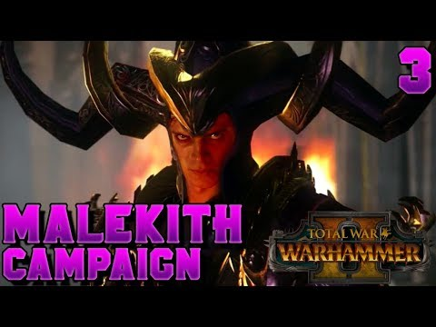 14,000 SUBSCRIBERS! WE MADE IT! Malekith Campaign #3 - DANCES WITH MALEKITH | Total War: Warhammer 2