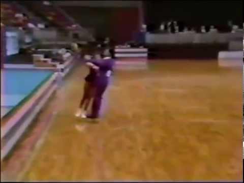 1990 U.S. Roller Skating Nationals Senior Dance Finals