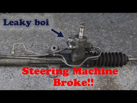 How to Replace the Steering Rack on your Honda Accord!