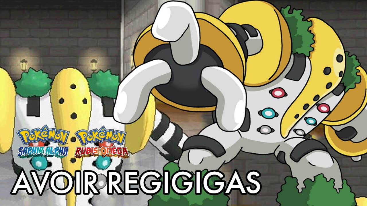 how to catch the regis in alpha sapphire