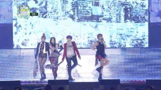 121214 2ne1 - I Love You @ 2012 Melon Music Awards