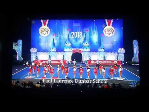 2018 Dunbar cheer finals