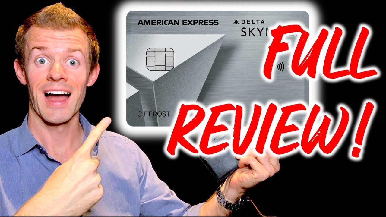 Download DELTA SKYMILES PLATINUM AMEX REVIEW! (Delta SkyMiles Platinum American Express Card Benefits)
