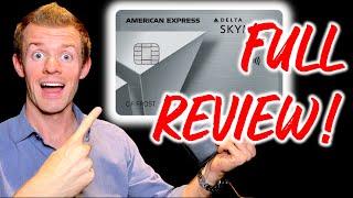 DELTA SKYMILES PLATINUM AMEX REVIEW! (Delta SkyMiles Platinum American Express Card Benefits)