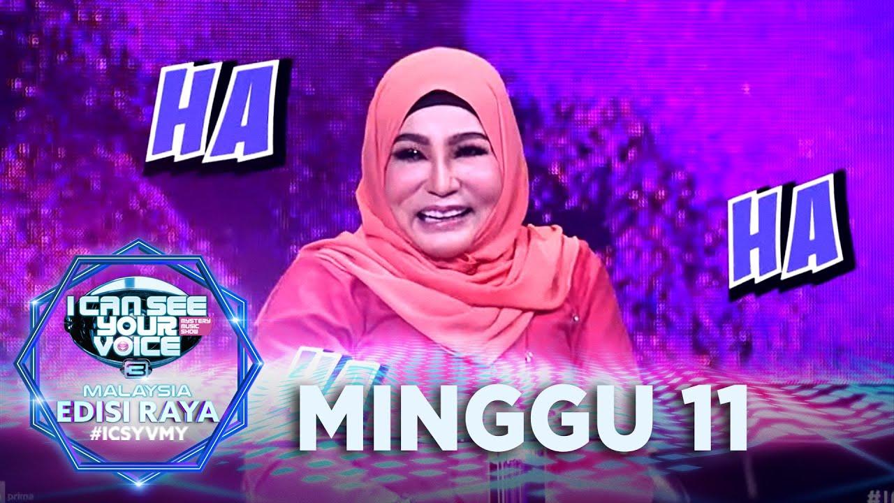 [FULL] I Can See Your Voice Malaysia (Musim 3)  Minggu 11 (Edisi Raya) - Ramlah Ram |  #ICSYVMY