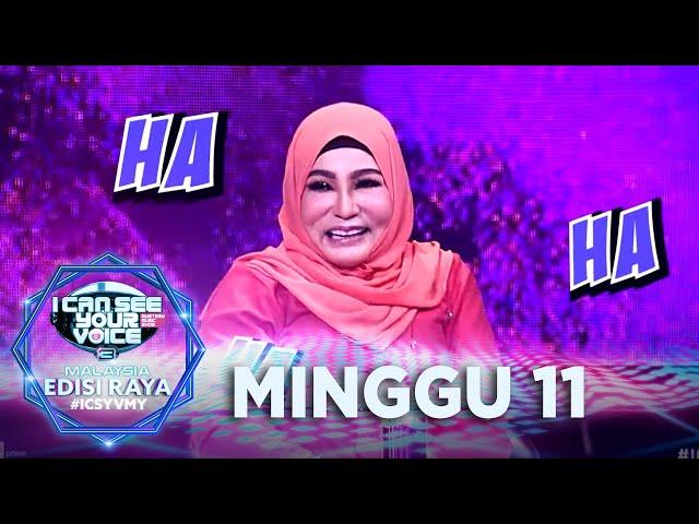 [FULL] I Can See Your Voice Malaysia (Musim 3)   Minggu 11 (Edisi Raya) - Ramlah Ram