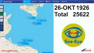 Dokumentiere Schleppertätigkeiten NGOs Mittelmeer