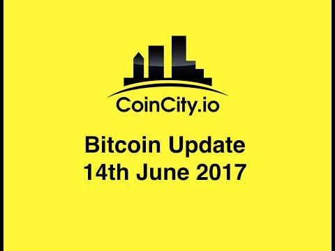 CoinCity Bitcoin Update 14th June 2017