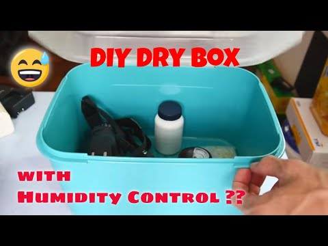 How To Make A DIY Dry Box With Basic Humidity Control