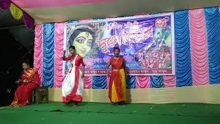 Param Sundori Dance💃 Durga pujor dance//Bollywood song @A. R. Rahman |Shreya| Amitabh|Dance cover