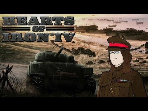Hearts Of Iron IV - United Kingdom (Co-Op) #6 - Denmark Defe