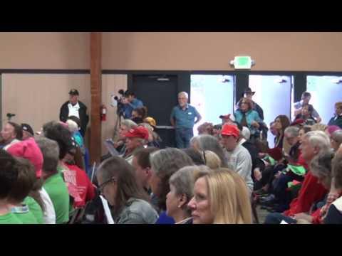 La Malfa Town Hall meeting in Nevada County