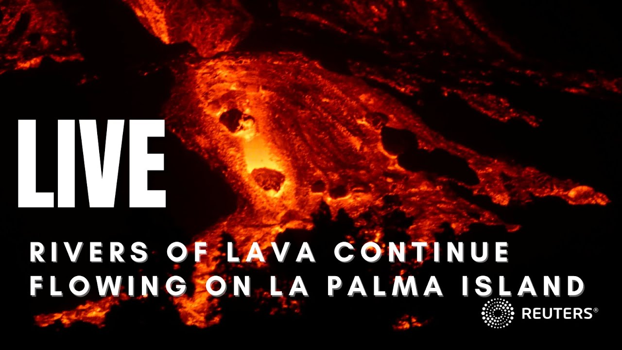 Download LIVE: Lava from Spain's Cumbre Vieja volcano spreads on La Palma island with no end in sight
